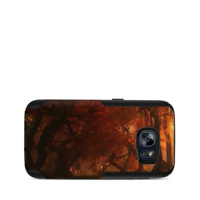 OtterBox Commuter Galaxy S7 Case Skin - Canopy Creek Autumn