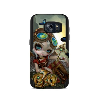 OtterBox Commuter Galaxy S7 Case Skin - Clockwork Dragonling