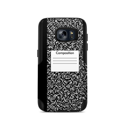 OtterBox Commuter Galaxy S7 Case Skin - Composition Notebook