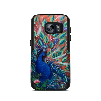 OtterBox Commuter Galaxy S7 Case Skin - Coral Peacock