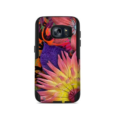 OtterBox Commuter Galaxy S7 Case Skin - Cosmic Damask