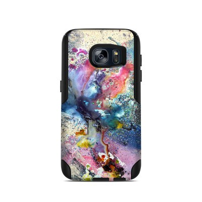 OtterBox Commuter Galaxy S7 Case Skin - Cosmic Flower