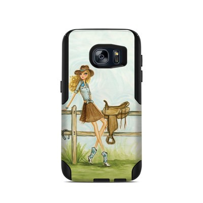 OtterBox Commuter Galaxy S7 Case Skin - Cowgirl Glam