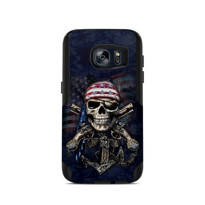 OtterBox Commuter Galaxy S7 Case Skin - Dead Anchor