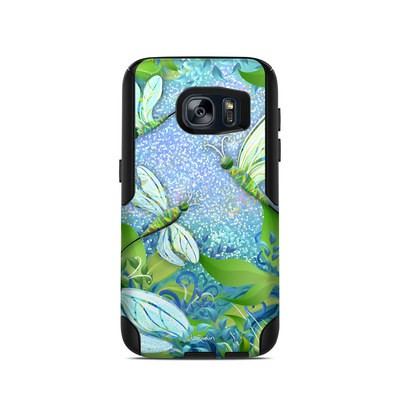 OtterBox Commuter Galaxy S7 Case Skin - Dragonfly Fantasy