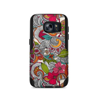 OtterBox Commuter Galaxy S7 Case Skin - Doodles Color