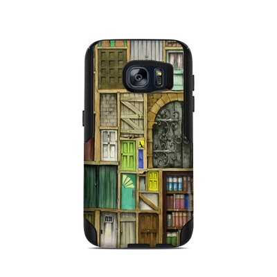 OtterBox Commuter Galaxy S7 Case Skin - Doors Closed