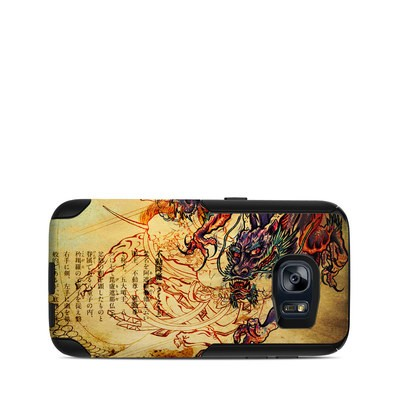 OtterBox Commuter Galaxy S7 Case Skin - Dragon Legend