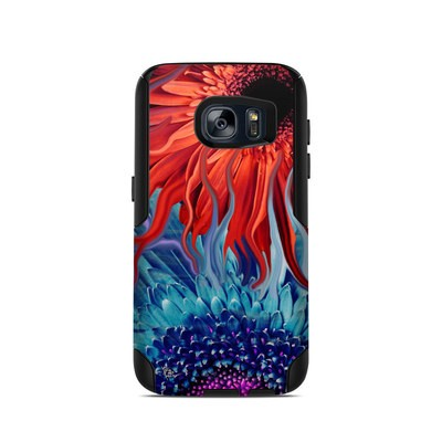 OtterBox Commuter Galaxy S7 Case Skin - Deep Water Daisy Dance
