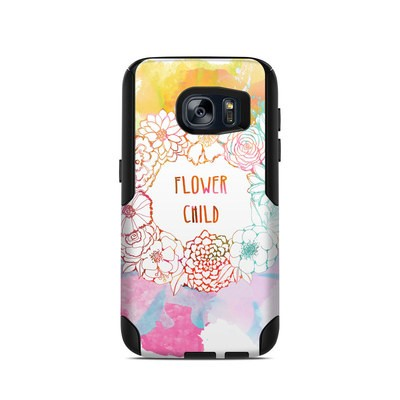 OtterBox Commuter Galaxy S7 Case Skin - Flower Child