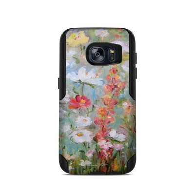 OtterBox Commuter Galaxy S7 Case Skin - Flower Blooms