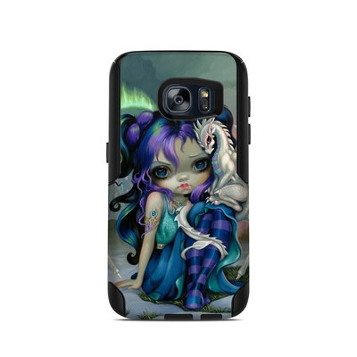OtterBox Commuter Galaxy S7 Case Skin - Frost Dragonling