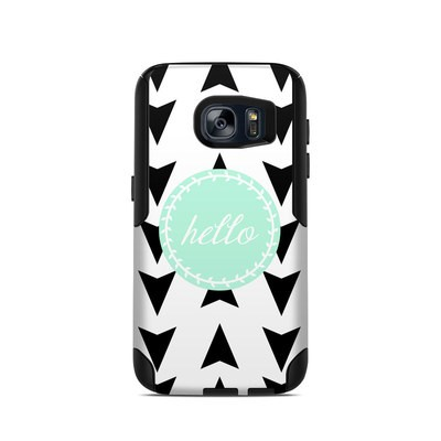 OtterBox Commuter Galaxy S7 Case Skin - Greetings