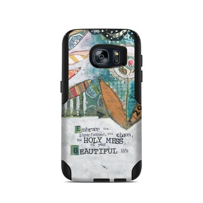 OtterBox Commuter Galaxy S7 Case Skin - Holy Mess
