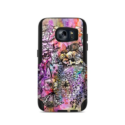 OtterBox Commuter Galaxy S7 Case Skin - Hot House Flowers