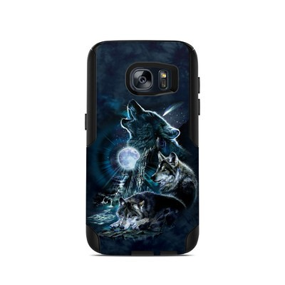 OtterBox Commuter Galaxy S7 Case Skin - Howling