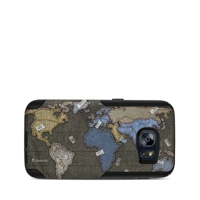 OtterBox Commuter Galaxy S7 Case Skin - Jean Map