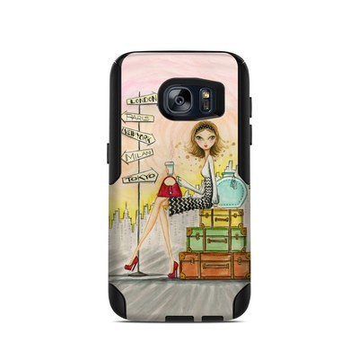 OtterBox Commuter Galaxy S7 Case Skin - The Jet Setter