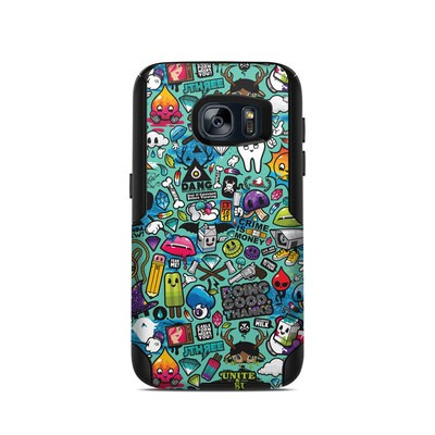 OtterBox Commuter Galaxy S7 Case Skin - Jewel Thief