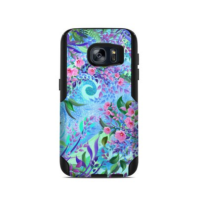 OtterBox Commuter Galaxy S7 Case Skin - Lavender Flowers