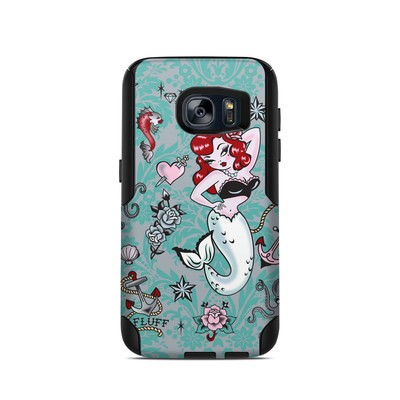 OtterBox Commuter Galaxy S7 Case Skin - Molly Mermaid