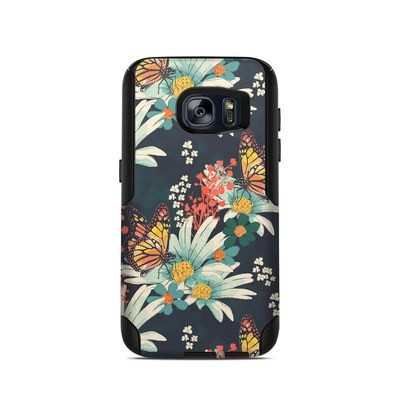 OtterBox Commuter Galaxy S7 Case Skin - Monarch Grove