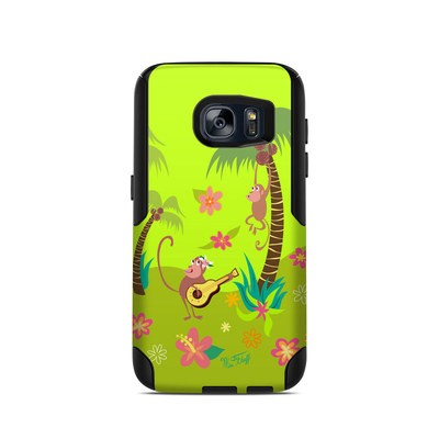OtterBox Commuter Galaxy S7 Case Skin - Monkey Melody