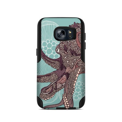 OtterBox Commuter Galaxy S7 Case Skin - Octopus Bloom