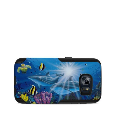 OtterBox Commuter Galaxy S7 Case Skin - Ocean Friends