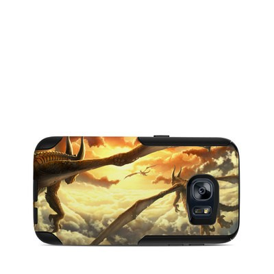 OtterBox Commuter Galaxy S7 Case Skin - Over the Clouds
