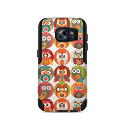 OtterBox Commuter Galaxy S7 Case Skin - Owls Family