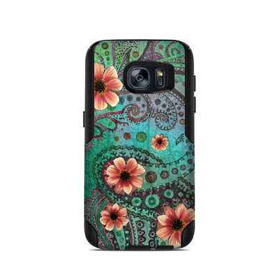 OtterBox Commuter Galaxy S7 Case Skin - Paisley Paradise