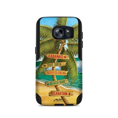 OtterBox Commuter Galaxy S7 Case Skin - Palm Signs