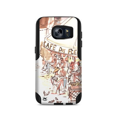 OtterBox Commuter Galaxy S7 Case Skin - Paris Makes Me Happy