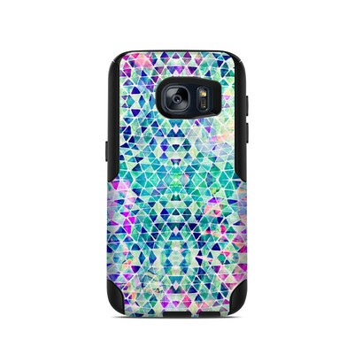 OtterBox Commuter Galaxy S7 Case Skin - Pastel Triangle