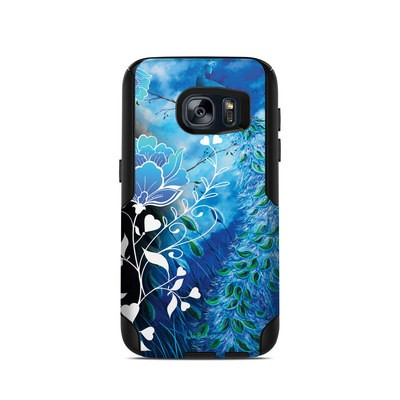 OtterBox Commuter Galaxy S7 Case Skin - Peacock Sky