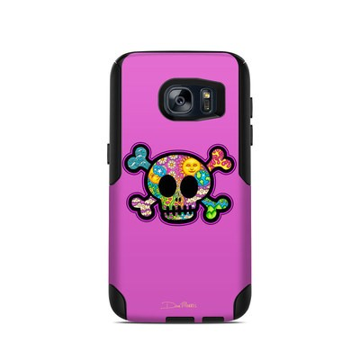 OtterBox Commuter Galaxy S7 Case Skin - Peace Skull