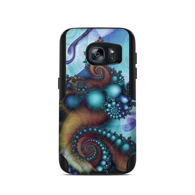 OtterBox Commuter Galaxy S7 Case Skin - Sea Jewel