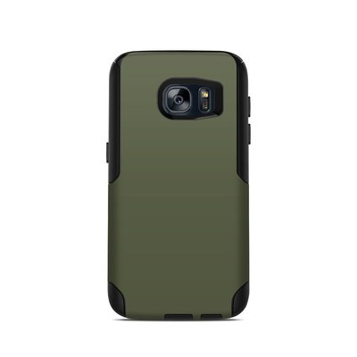OtterBox Commuter Galaxy S7 Case Skin - Solid State Olive Drab