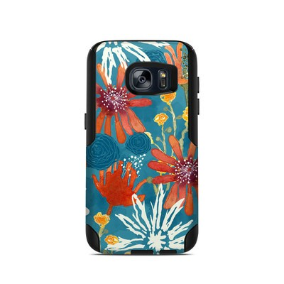 OtterBox Commuter Galaxy S7 Case Skin - Sunbaked Blooms