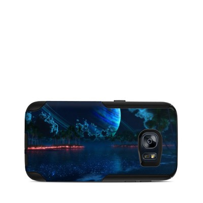 OtterBox Commuter Galaxy S7 Case Skin - Thetis Nightfall