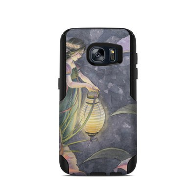 OtterBox Commuter Galaxy S7 Case Skin - Twilight Lilies