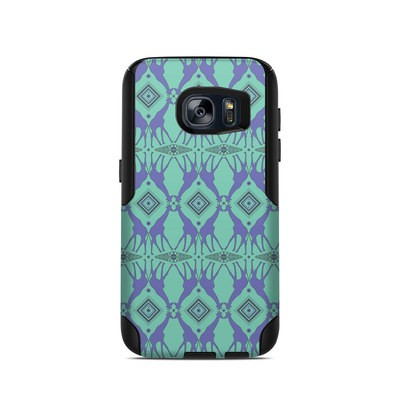 OtterBox Commuter Galaxy S7 Case Skin - Tower of Giraffes