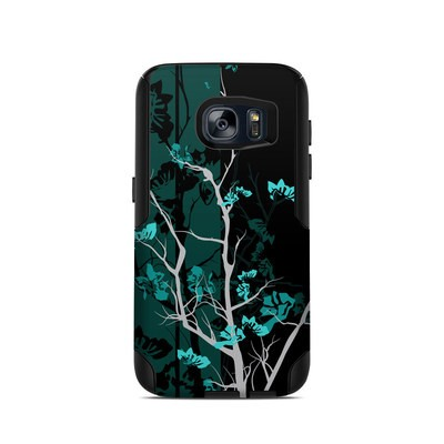 OtterBox Commuter Galaxy S7 Case Skin - Aqua Tranquility