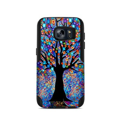 OtterBox Commuter Galaxy S7 Case Skin - Tree Carnival