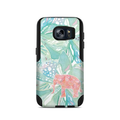 OtterBox Commuter Galaxy S7 Case Skin - Tropical Elephant