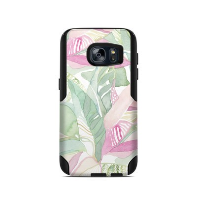 OtterBox Commuter Galaxy S7 Case Skin - Tropical Leaves
