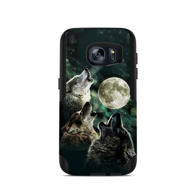 OtterBox Commuter Galaxy S7 Case Skin - Three Wolf Moon