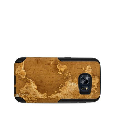 OtterBox Commuter Galaxy S7 Case Skin - Upside Down Map