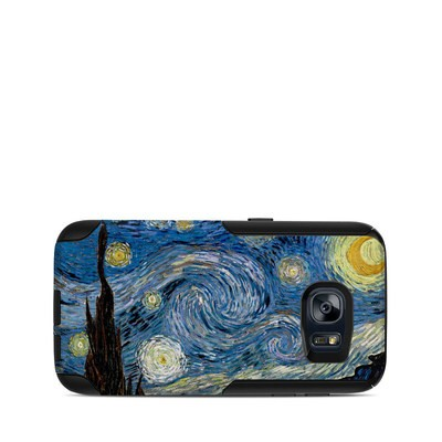 OtterBox Commuter Galaxy S7 Case Skin - Starry Night